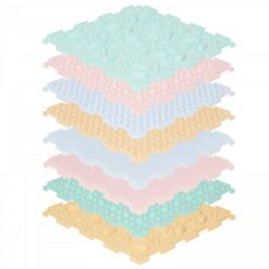puzzle mat set Little man, pastel colors